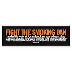 Smoking Ban sticker