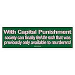Capital Punishment sticker