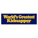 World's Greatest Kidnapper sticker