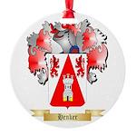 Henker Round Ornament
