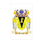 Henggi Sticker (Rectangle 50 pk)