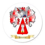 Heneries Round Car Magnet