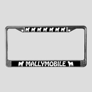 Mallymobile (alaskan Malamute) License Plate Frame