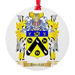 Henekan Round Ornament