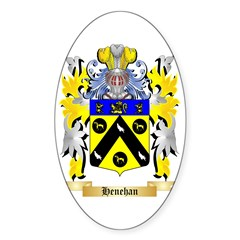 Henehan Sticker (Oval)