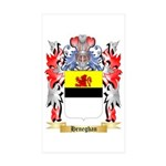 Heneghan Sticker (Rectangle 50 pk)