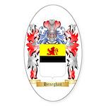 Heneghan Sticker (Oval 50 pk)