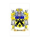 Henecan Sticker (Rectangle 50 pk)