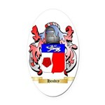 Hendry Oval Car Magnet
