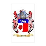 Hendry Sticker (Rectangle 10 pk)