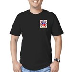 Hendrie Men's Fitted T-Shirt (dark)