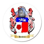 Hendrie Round Car Magnet