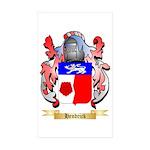 Hendrick Sticker (Rectangle 10 pk)