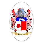 Hendrick Sticker (Oval 10 pk)