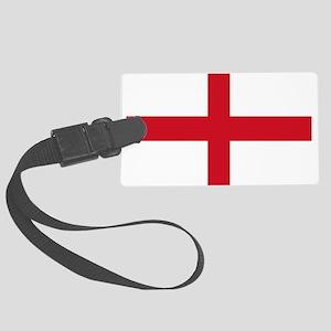 St George Cross Luggage Tag