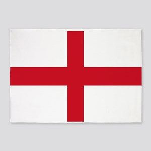 St George Cross 5'x7'Area Rug