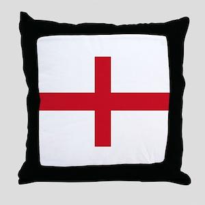 St George Cross Throw Pillow