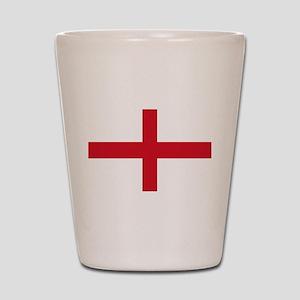 St George Cross Shot Glass