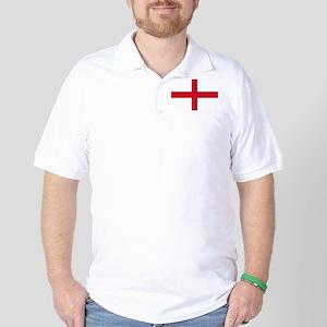 St George Cross Golf Shirt