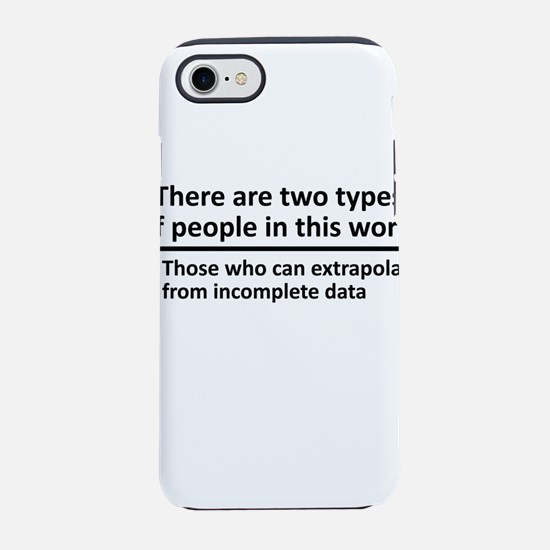 There Are Two Types Of People in This World iPhone