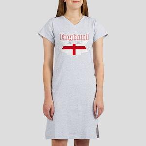 English Flag Ribbon - St George Cross Women's Nigh