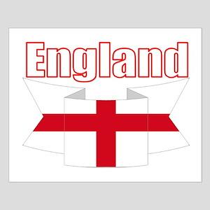 English Flag Ribbon - St George Cross Posters