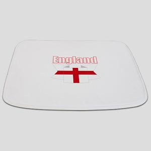 English Flag Ribbon - St George Cross Bathmat