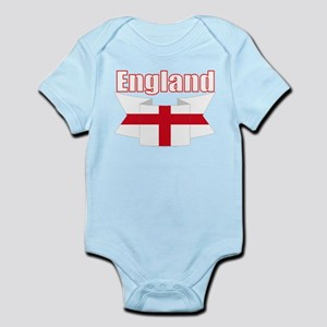 English Flag Ribbon - St George Cross Body Suit