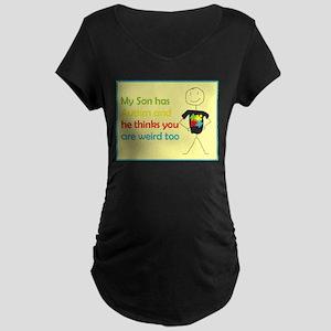 Autistic Pride Maternity Dark T-Shirt