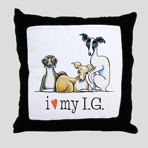 IG Lover Throw Pillow