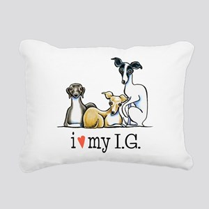 IG Lover Rectangular Canvas Pillow