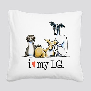 IG Lover Square Canvas Pillow
