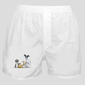 Italian Greyhound Trio Boxer Shorts