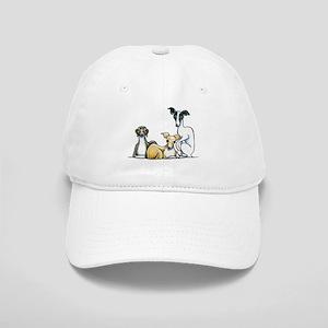 Italian Greyhound Trio Baseball Cap