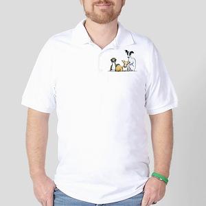 Italian Greyhound Trio Golf Shirt