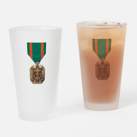 Navy Marine Corps Achievement Drinking Glass