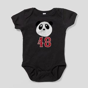 48 Kung Fu Panda Red Sox Baby Bodysuit