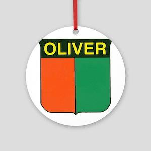 oliver 2 Ornament (Round)