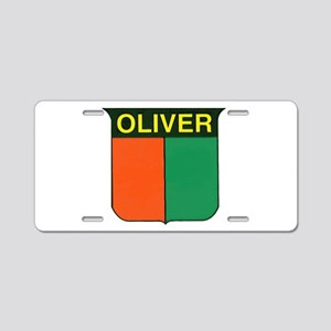 oliver 2 Aluminum License Plate