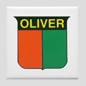 oliver 2 Tile Coaster