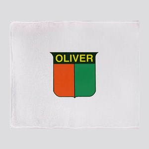 oliver 2 Throw Blanket
