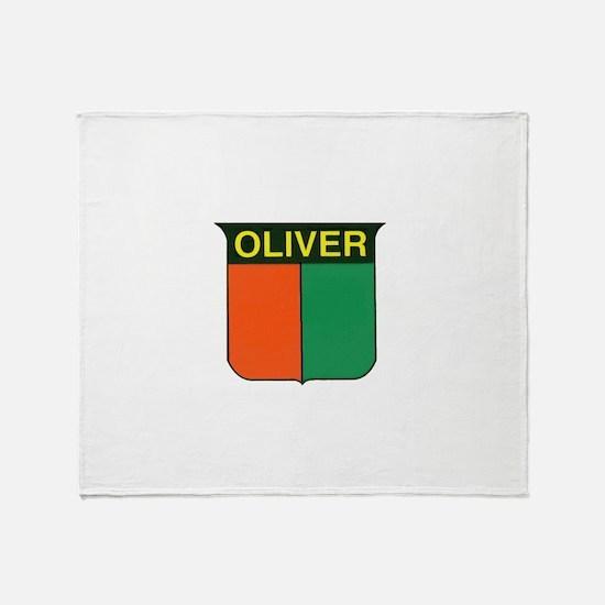 oliver 2.gif Throw Blanket