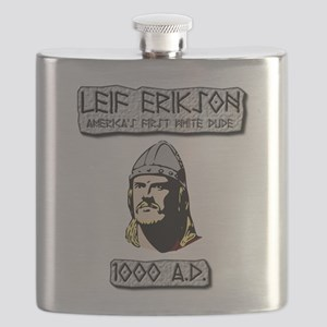 Leif Erikson: America's First White Dude Flask