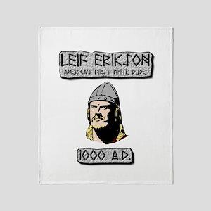 Leif Erikson: America's First White Dude Throw Bla