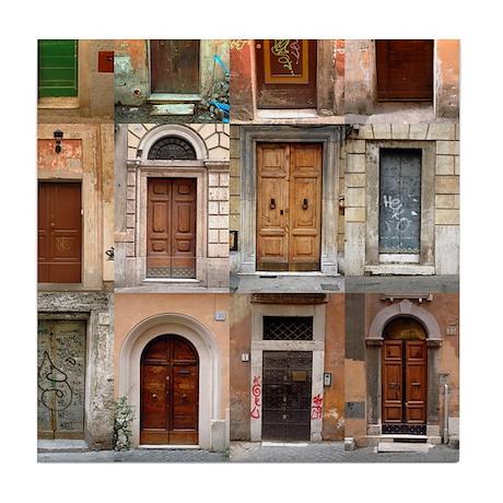 Old Italian Doors Art Tile Set - 6 of 6  sc 1 st  CafePress & Old Italian Doors Art Tile Set - 6 of 6 by oshishop