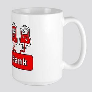 Blood Bank Large Mug