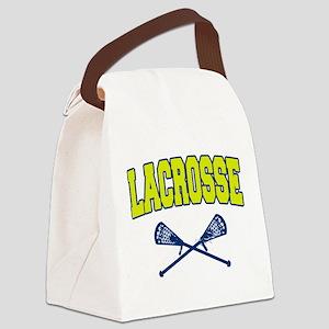 lacrosse60light Canvas Lunch Bag