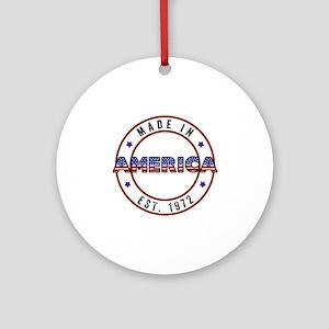 Made in America Est. 1971 Ornament (Round)