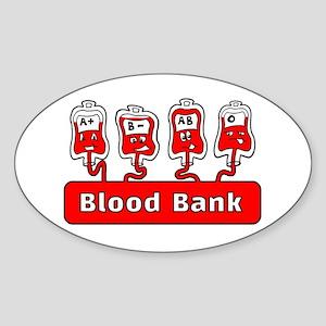 Blood Bank Sticker