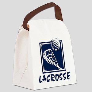 lacrosse62light Canvas Lunch Bag